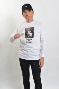 『巌窟王』袖リブ付きロングTシャツ(伯爵&アルベール&フランツver)_メンズ_ホワイト_正面